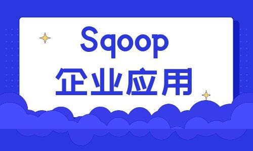 Sqoop企业应用