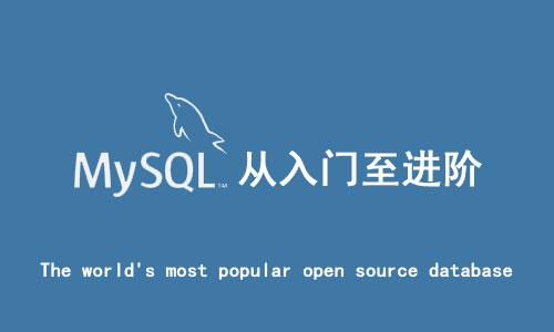 Mysql数据库从入门至进阶